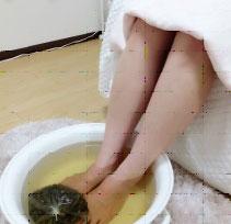 よもぎ足湯